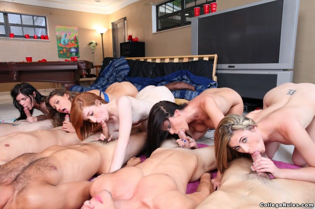 Heather Night, Mia Mae, Callie Calypso, Riley Grey, Sadie Kennedy   College Rules pictures