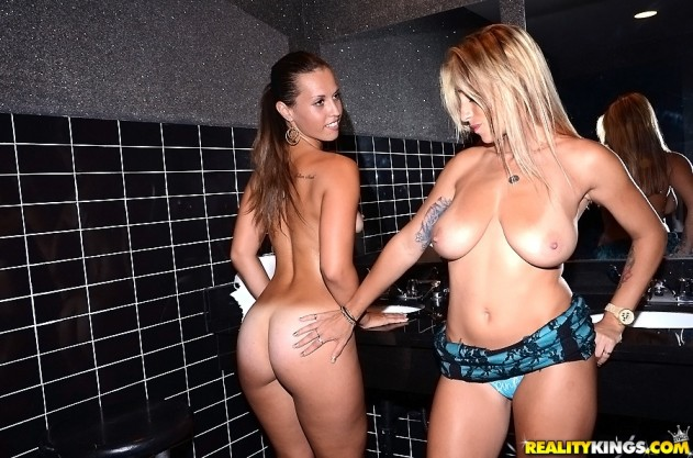 Riley Grey, Anita Toro   In The VIP (Wall of Vagina) pictures lesbian